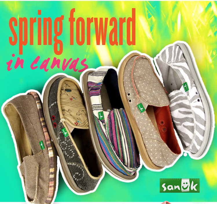Don't Fall Behind. Spring Forward in Canvas.