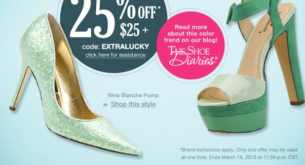 """These Shoes Were """"Mint"""" For You…"""