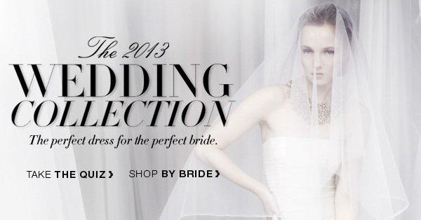 TAKE THE QUIZ - SHOP BY BRIDE