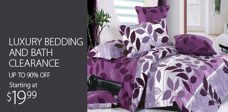 Luxury Bedding and Bath Clearance