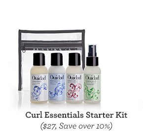 Curl Essentials Starter Kit ($27, Save over 10%)