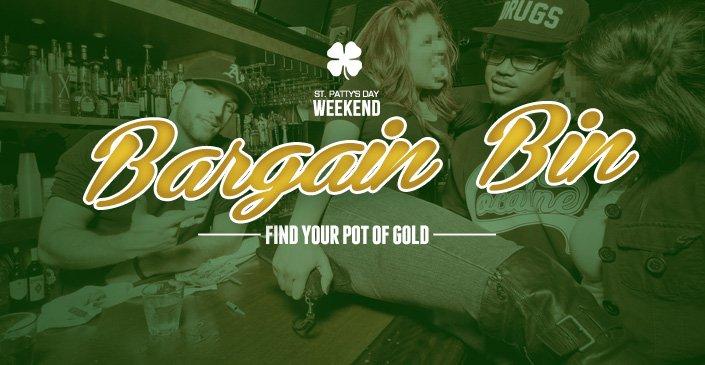 St. Patty's Day Bargain Bin
