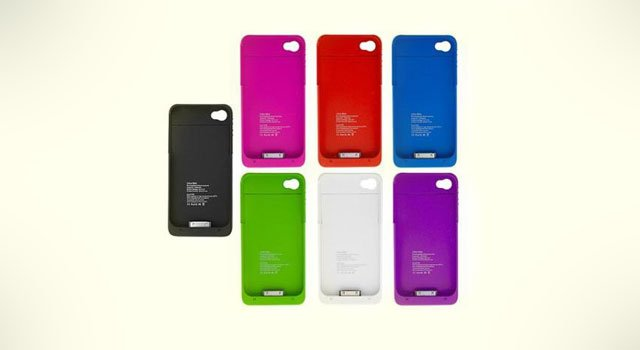 Rechargeable iphone case for less