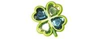 clover jibbitz™ charm