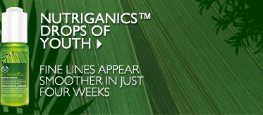 NUTRIGANICS™ DROPS OF YOUTH -- Fine lines appear smoother in just four weeks
