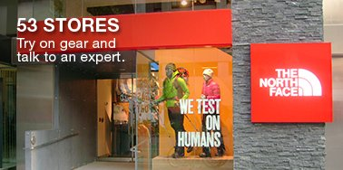 53 STORES TRY ON GEAR AND TALK TO AN EXPERT