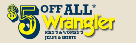 $5 Wrangler Savings