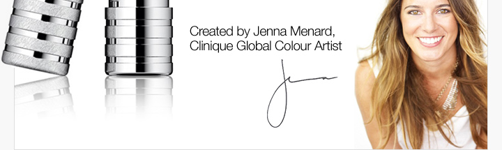Created by Jenna Menard, Clinique Global Colour Artist