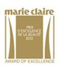 marie claire | AWARD OF EXCELLENCE