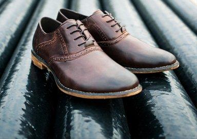 Shop J75 Rich Leather & Suede Dress Shoes