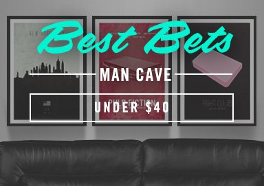 Shop Best Bets: Man Cave Under $50