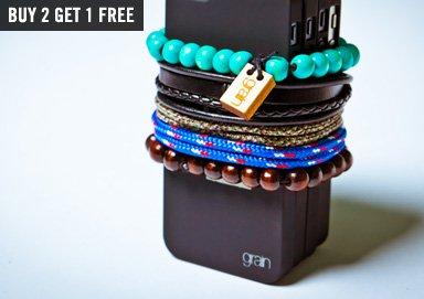 Shop Jewelry ft. Rich Leather Wristwear