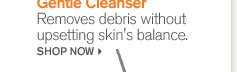 Gentle Cleanser Removes debris without upsetting skin s balance SHOP NOW