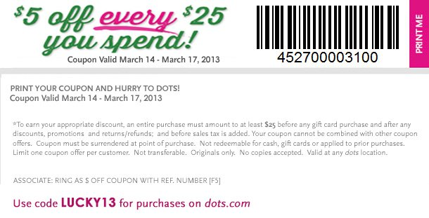 Enjoy this Special St. Patrick's Day Coupon for $5 off every $25 you spend! In-Stores and Online! SHOP NOW