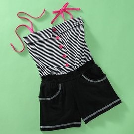 A Day to Play: Girls' Rompers