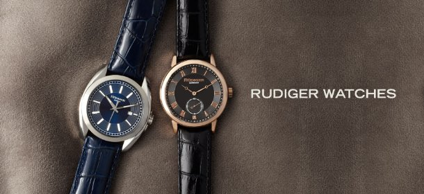 RUDIGER WATCHES, Event Ends March 20, 9:00 AM PT >