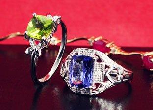 Gemstone Jewelry Blowout: Rings & Bracelets