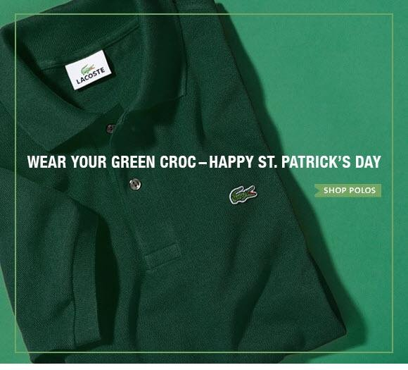 WEAR YOUR GREEN CROC - HAPPY ST. PATRICK'S DAY