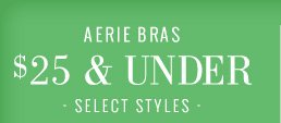 Aerie Bras $25 & Under | Select Styles