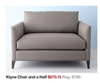 Klyne Chair and a Half $679.15 Reg. $799.