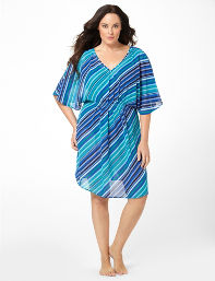 Surf the Web Tropical Breeze Coverup