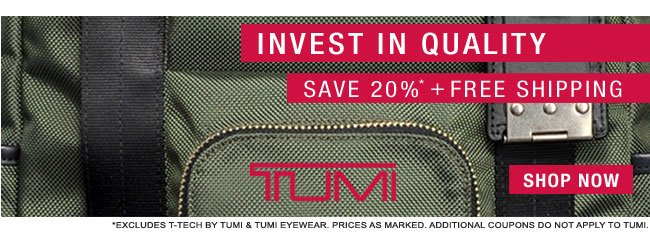 Shop TUMI Sale