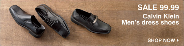 SALE 99.99 Calvin Klein Men's dress shoes. Shop now.