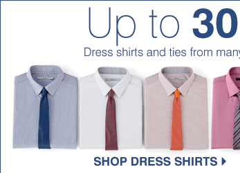 Up to 30% off Dress shirts and ties from many designer brands. Shop dress shirts.