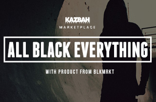 Marketplace: All Black Everything X BLKMRKT