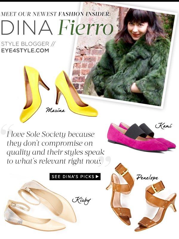 Fashion Insider - Dina Fierro