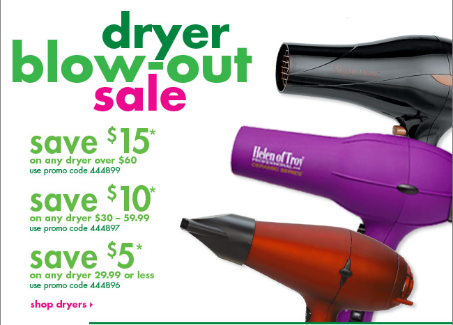 dryer blow-out sale