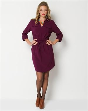 Tiana B. Cinched And Pocketed Dress - Made In The USA $39