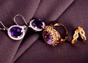 Spring Colors: Gold Jewelry from $19