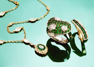 Pot of Gold and Green Jewelry