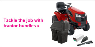 Tackles the job with tractor bundles