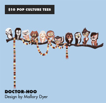 $10 Pop Culture Tees