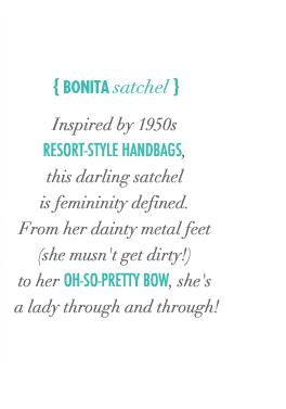 Bonita Satchel