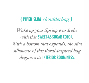 Piper Slim Shoulderbag