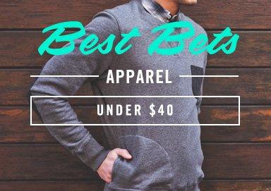 Shop Best Bets: Apparel Under $40