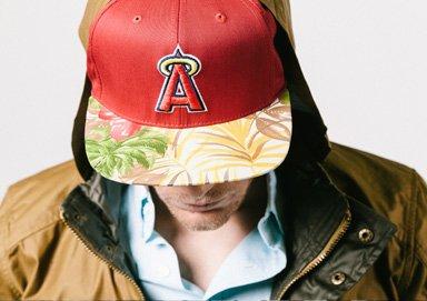 Shop MLB Tees & Hats ft. Tropical Brims