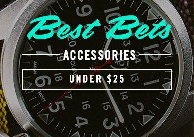 Shop Best Bets: Accessories Under $25