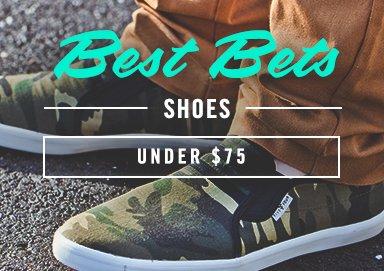 Shop Best Bets: Footwear Under $75