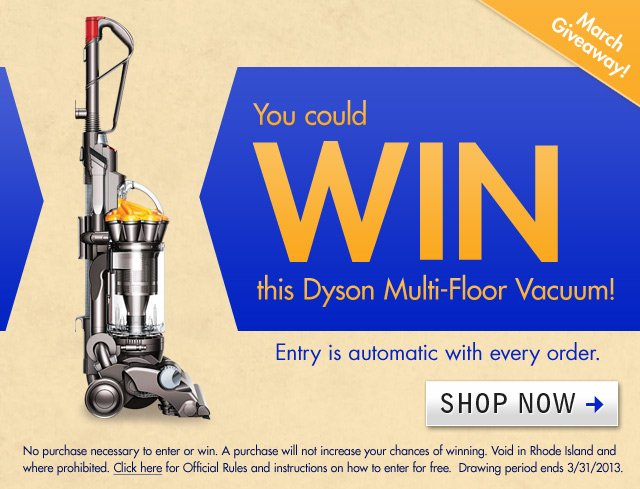 Dyson Giveaway