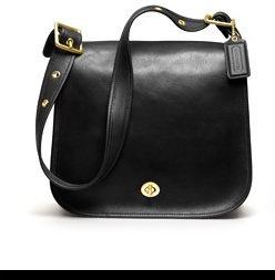 leather stewardess bag