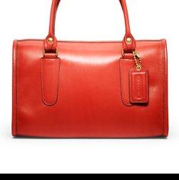 leather madison satchel