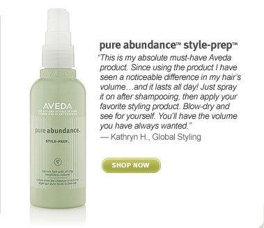 pure abundance style prep. shop now.