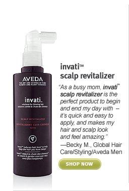invati scalp revitalizer. shop now.
