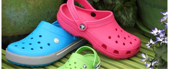 Crocs! Kids', women's and men's styles start now!