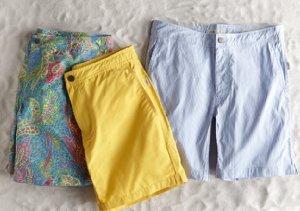 Swim & Sand: Onia Trunks, Towels & Shoes