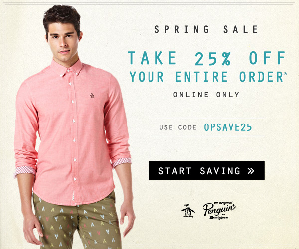 Spring out of Winter with 25% OFF Entire Order - Use code OPSAVE25